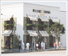 2005 - Williams-Sonoma Home Opens First Store