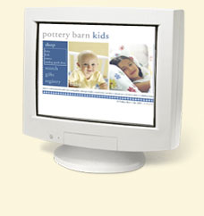 2001 - Pottery Barn Kids Welcomes New Sibling