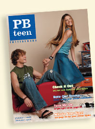 2003 - Pottery Barn's Newest Family Member - PBteen