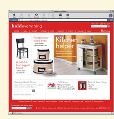 2004 - holdeverything.com Launches